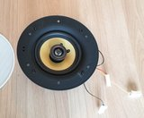 """LD Systems Contractor CFL 52 100V 5.25"""" frameless 2-way in-wall speaker_"""