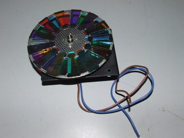 Showtec Starzone series color wheel incl. motor and bracket