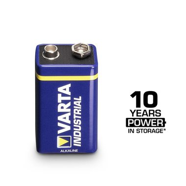 Varta 9V industrial black battery