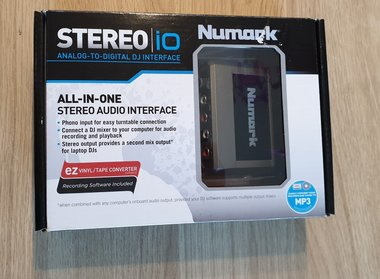 Numark Stereo IO Analogue to Digital Audio DJ Interface