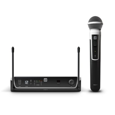 LD Systems U305 wireless microphone set Dynamic handheld microphone 584-608 MHz