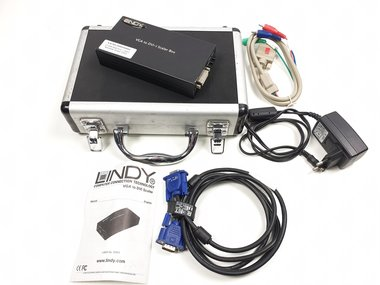 Lindy 32563 VGA to DVI-I scaler box / converter