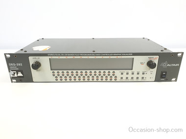 Altair DEQ-282 digital 2x28 band graphic equalizer
