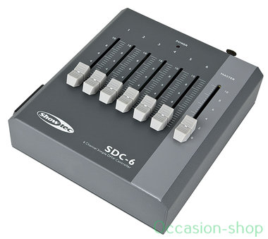 Showtec SDC-6 6-channel DMX controller