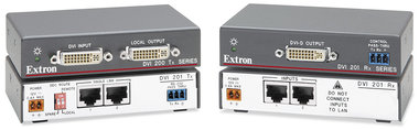 Extron DVI 201 RX/TX DVI video extender set