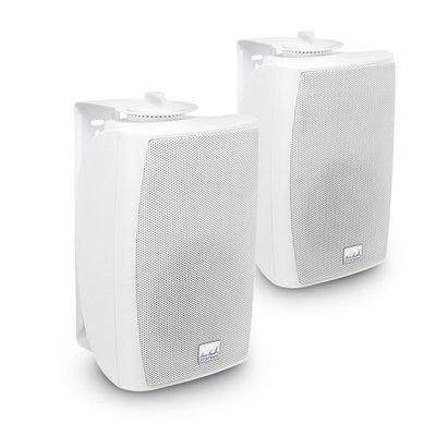 """LD Systems Contractor CWMS 42 W 4"""" 2-way wall mount speaker white (pair) 100V"""